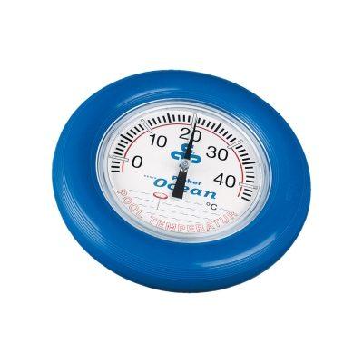 Термометр круглый, D=18 см, синий Ocean