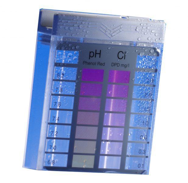 Тестер Minitetser Cl/рН, Cl (0,1-3,0 мг/л), PH (6,8-8,2)