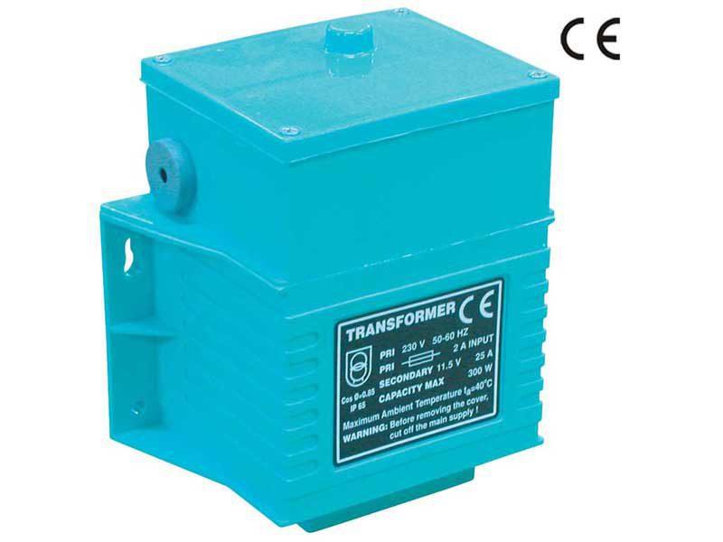 Трансформатор Gemas 100 Вт, 230 — 12 B, IP65 C изолятором из полиуретана