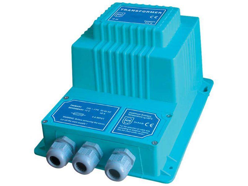 Трансформатор Gemas 2х300 Вт, 230 — 12 B, IP65 C изолятором из полиэстера