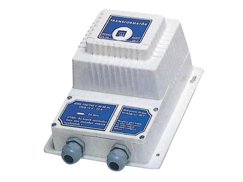 Трансформатор Gemas 300 Вт, 230 — 13-16 В, IP65, каскадный полиуретановый