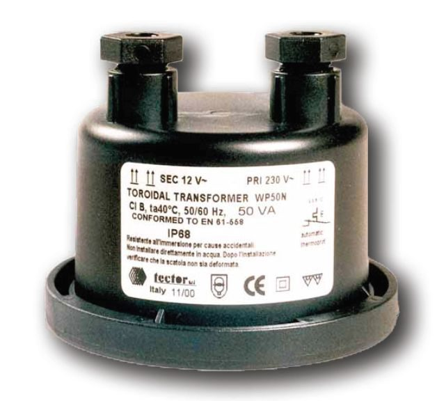 Трансформатор WP60N, 230-12 В, 60 Вт