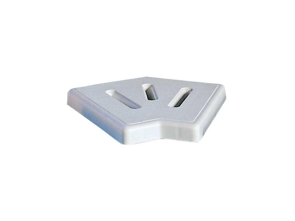 Уголовой элемент переливной решетки из пластика РР
