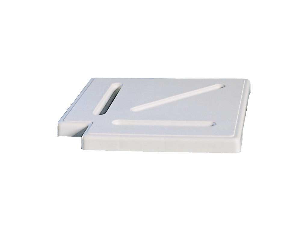 Уголовой элемент переливной решетки из пластика РР, 90 град, 20 см
