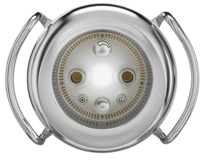 Устройство противотечения Badu Jet Primavera Deluxe с белым прожектором LED, 3,0 кВт, 230 В, 75 м3/ч