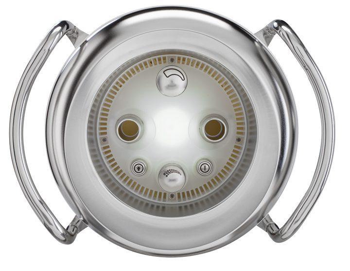 Устройство противотечения Badu Jet Primavera Deluxe с белым прожектором LED, 3,0 кВт, 400/230 В, 75 м3/ч