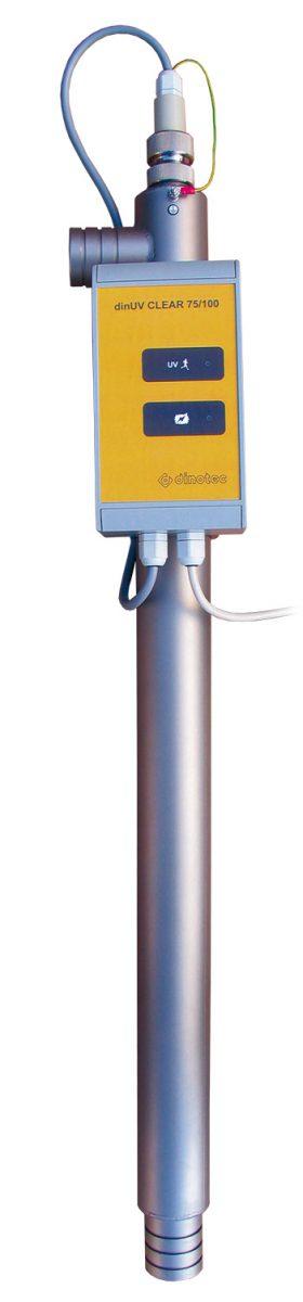 Устройство УФ-обработки воды DinUV — CLEAR 100