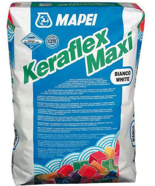 Высокоэластичный клей для плитки KERAFLEX MAXI, серый (слой 3-15 мм), 25 кг
