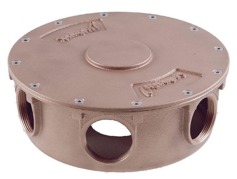 Водораспределитель SpringFit, 2?», 6 X 1?», ? 250 мм, бронза