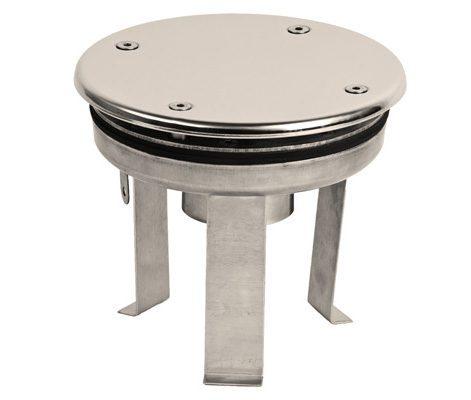 Водозабор с антивихревой крышкой, плитка, D=165 мм, вутр. резьба G2