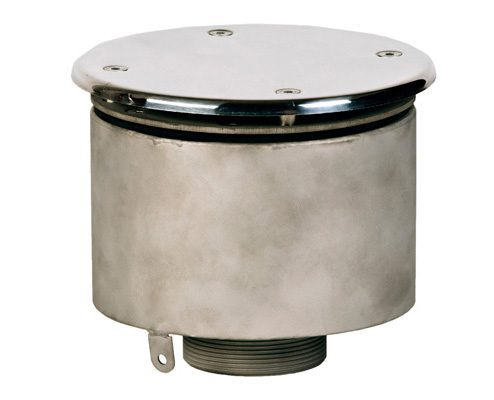 Водозабор с антивихревой крышкой, плитка, D=165×100 мм, наруж. резьба G2 1/2