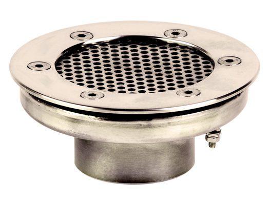 Водозабор с сетчатой крышкой для пленочного бассейна, D=120 мм, вутр. резьба G2