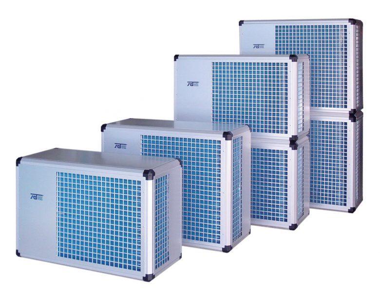 Воздушно-водяной тепловой насос Set Schmidt FWP 20 S, 5200 м3/ч, 400 В, 4,3 кВт