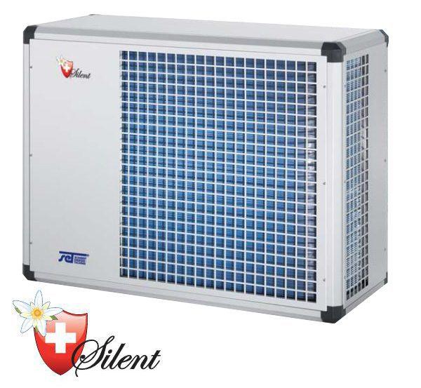Воздушно-водяной тепловой насос Set Schmidt WP Silent 10, 2100 м3/ч, 230 В, 2,0 кВт