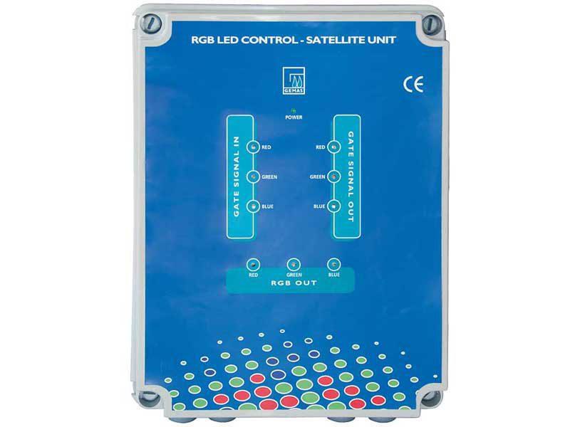 Вспомогательный блок (SLAVE), Gemas, для 4-х терминалов RGB прожекторов