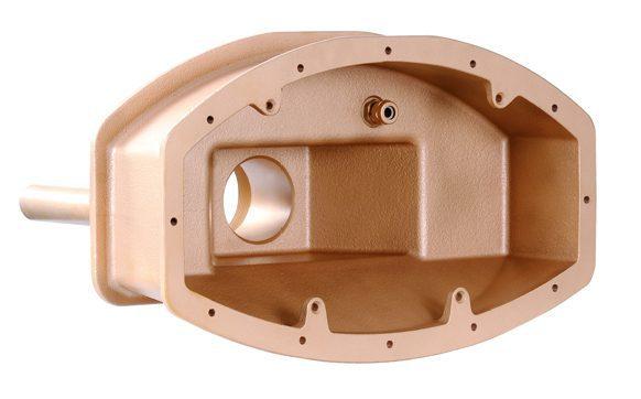 Закладные детали противотоков «Cyclon» и «Cyclon Duo», 240 мм, бронза, для готовых басс., выходы 2 ?
