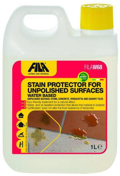 Защитная пропитка для пористых поверхностей W68, 1 л
