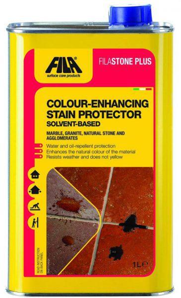 Защитное средство с эффектом усиления цвета для натурального камня StonePlus, 0,25 л