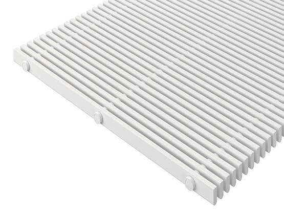 Жесткая напольная решетка для прилегающей укладки высотой 27 мм