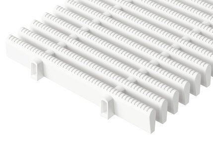 Жесткая поперечная переливная решетка для бассейна 22 мм х 400 мм