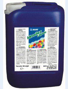 Жидкая гидроизоляционная добавка IDROSILEX для цементных растворов