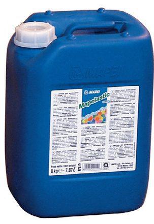 Жидкий компонент В для двухкомпонентной гидроизоляции MAPELASTIC, 8 кг