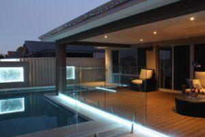освещение бассейна