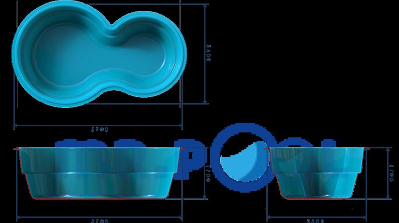 Композитный бассейн Венерн